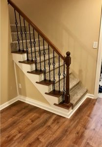 Carpeted Staircase | Carpet Mart, INC