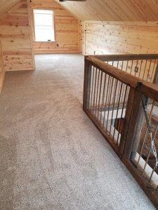 Loft - Carpeted Area | Carpet Mart, INC