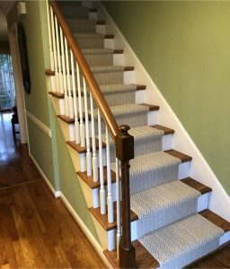 Patterned Staircase | Carpet Mart, INC