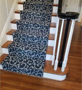 Patterned Staircase Runner | Carpet Mart, INC