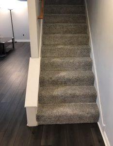 Stairway carpet | Carpet Mart, INC